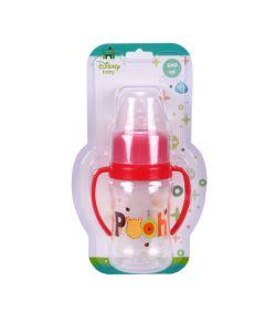 Super Mamadeira de 240Ml Ortodôntica Pooh Disney - Vermelho
