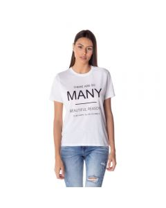 T-shirt Feminina Adulto Estampa Boby Blues Branco