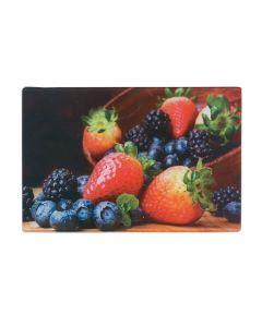 Tábua de Corte 30x20cm Decorada Solecasa - Frutas