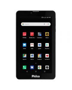 """Tablet 7"""" com Entrada para Chip 3G Philco PTB7QSG - Bivolt"""