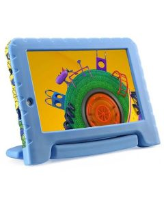 "Tablet 7"" com WiFi Multilaser Discovery Kids NB290 - Azul"