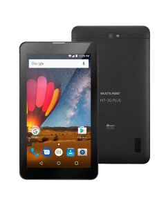 "Tablet 7"" Dual Chip Multilaser M7 3G Plus - Preto"