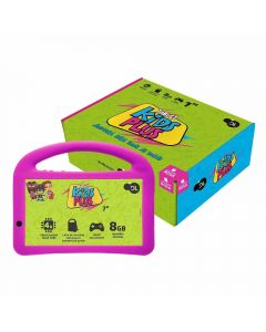 "Tablet 7"" Kids Plus 8Gb Dl - Rosa"