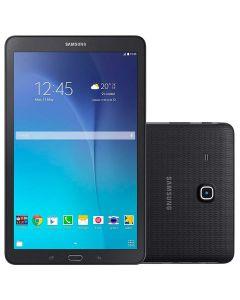 """Tablet 9.6"""" WiFi e 3G Samsung Galaxy Tab E T561M - PRETO"""