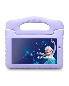 "Tablet Kids Plus Frozen Tela 7"" com Wi-fi Multilaser - Lilás"