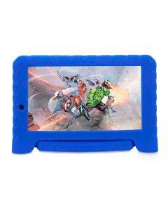 "Tablet Kids Plus Vingadores Tela 7"" com Wi-fi Multilaser - Azul"