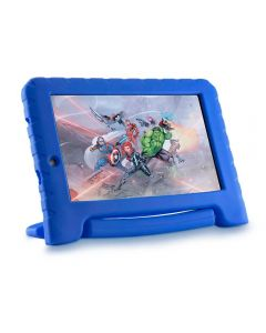 "Tablet Vingadores Plus 7"" com Wi-fi 16GB Multilaser - Azul"