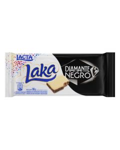 Tablete Da Lacta Diamante Negro Laka - 90g