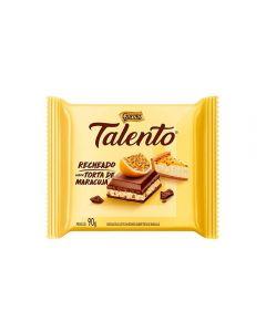 Tablete Talento Recheado De Maracujá Garoto - 90g