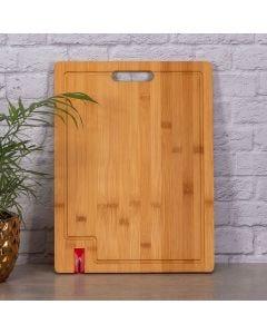 Tábua com Afiador de Faca Solecasa - Bambu
