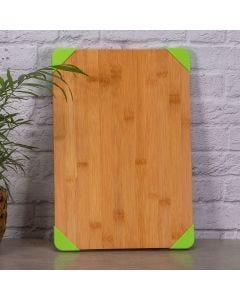 Tábua Retangular 25x37cm com Silicone Solecasa - Bambu