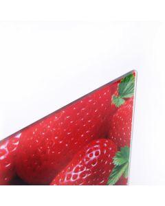 Tábua de Vidro de Corte Estampada 20x30cm - Finecasa - MORANGOS