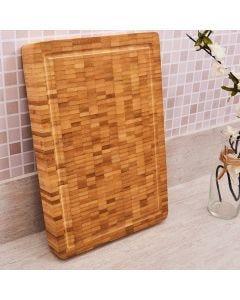Tabua Rustica de Corte 43x30cm Finecasa - Bambu