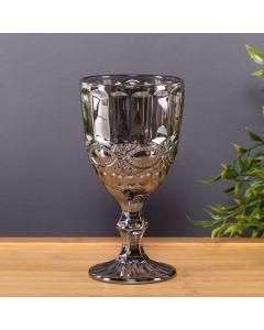 Taça De Vidro Metalizado 325Ml Lyor - Libelula