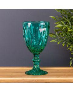 Taça de Vinho Bico Jaca 320ml Solecasa - Azul