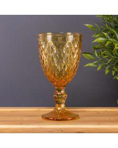 Taça de Vinho Bico Jaca 350ml Solecasa - Amarelo
