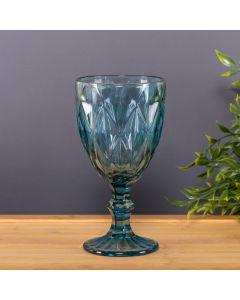 Taça de Vinho Diamante 320ml Solecasa - Azul