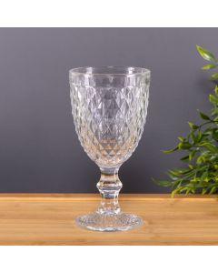 Taça de Vinho Diamante 350ml Solecasa - Vidro