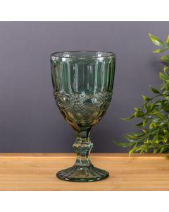 Taça de Vinho Verde 345ml Diamante Solecasa - Vidro