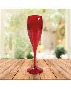 Taça para Champanhe 150ml Vitra Martiplast - Vermelho