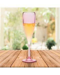 Taça para Champanhe 150ml Vitra Martiplast - Rose