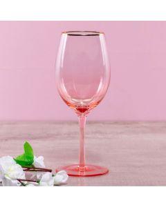 Taça para Vinho 500ml Woah Finecasa - Rosa