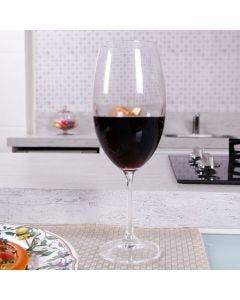 Taça para Vinho de Cristal Barbara 510ml Ricaelle - DIVERSOS