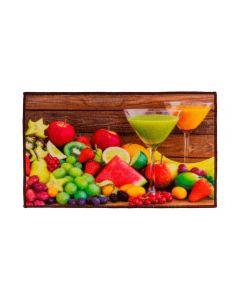 Tapete 45X75cm Veneza Para Cozinha Havan - Frutas