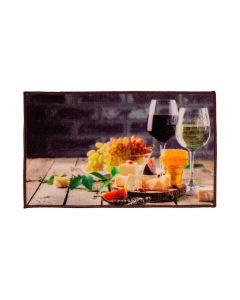 Tapete 45X75cm Veneza Para Cozinha Havan - Wine