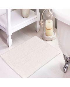 Tapete Agra 40x60cm para Banheiro - Branco