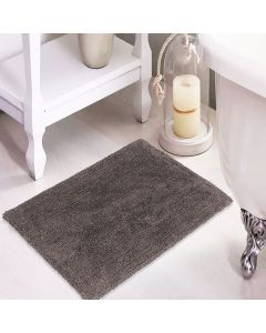 Tapete Agra 40x60cm para Banheiro - Cinza