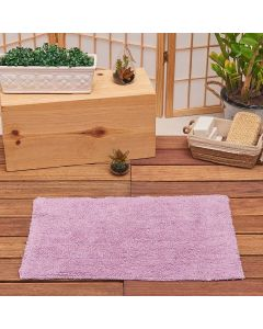 Tapete Agra 40x60cm para Banheiro - Rosa