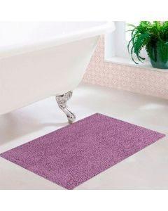 Tapete Agra 40x60cm para Banheiro - Roxo claro
