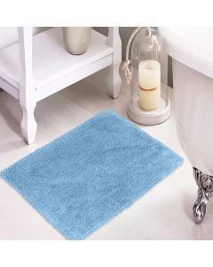 Tapete Agra 40x60cm para Banheiro - Azul indigo