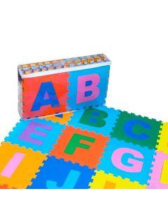 Tapete Alfabeto com 26 Peças de E.V.A Yoyo Kids - Colorido