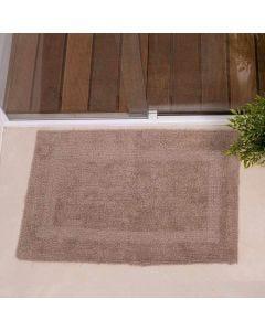 Tapete Arezo 45cm x 70cm para Banheiro Havan - Taupe