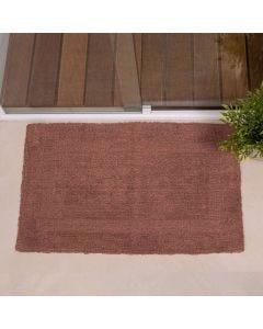 Tapete Arezo 45cm x 70cm para Banheiro Havan - Chocolate