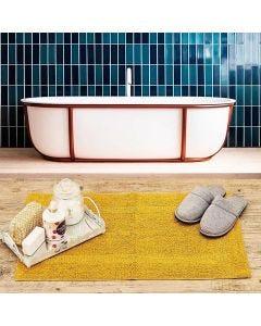 Tapete Arezo 45x70cm para Banheiro Havan - Mostarda