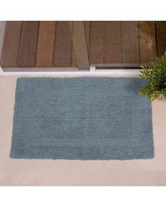 Tapete Arezo 45X70cm Para Banheiro Havan - Azul Claro