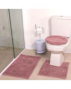 Tapete Banheiro 3PCS Dobby - Lavanda