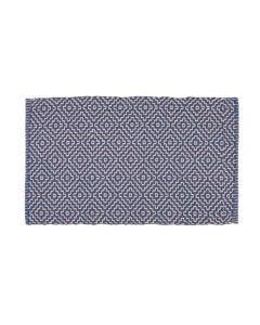 Tapete Creta 50X120 Cm Havan - Geométrico Azul