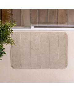 Tapete de Banheiro Super Soft 40x60cm Camesa - Bege
