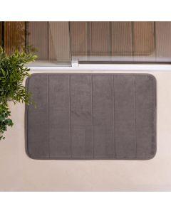 Tapete de Banheiro Super Soft 40x60cm Camesa - Cinza