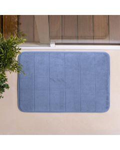 Tapete de Banheiro Super Soft 40x60cm Camesa - Azul