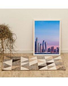 Tapete Dubhai 57x1,00m para Quarto e Sala Havan - Creme