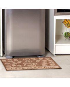 Tapete Eco-Nature 50x90cm para Cozinha J.Serrano - Cafe Premium Marrom