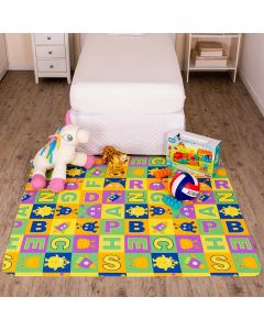 Tapete Infantil Estampado 1,30x1,50m Havan - Letras