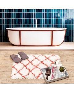 Tapete Levitare Home Design 70x50 Cm Fatex - Coral