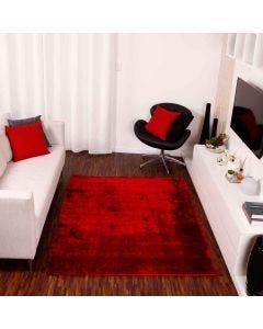 Tapete Lisboa 1,40x1,90m Quarto e Sala Havan - Vermelho