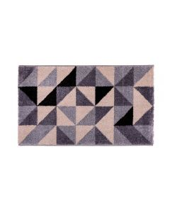 Tapete Magnifique 0,57X1,00M Havan - Triângulos Cinza